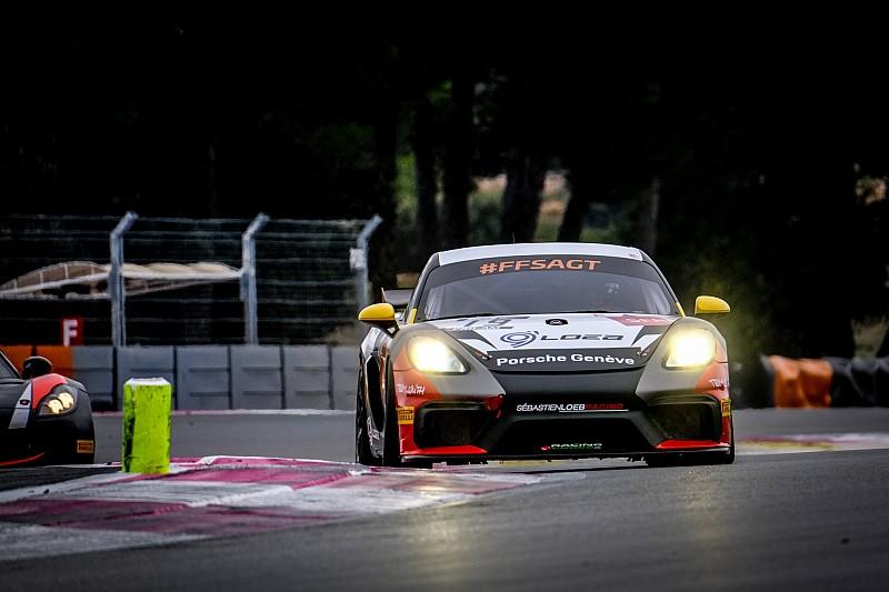 Loeb piąty do pit stopów