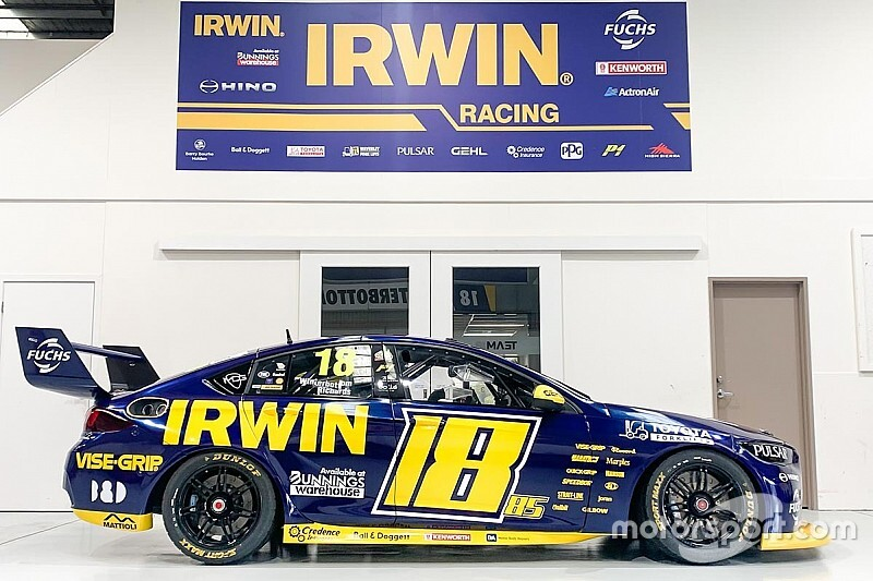 Supercars squad unveils NASCAR-inspired livery