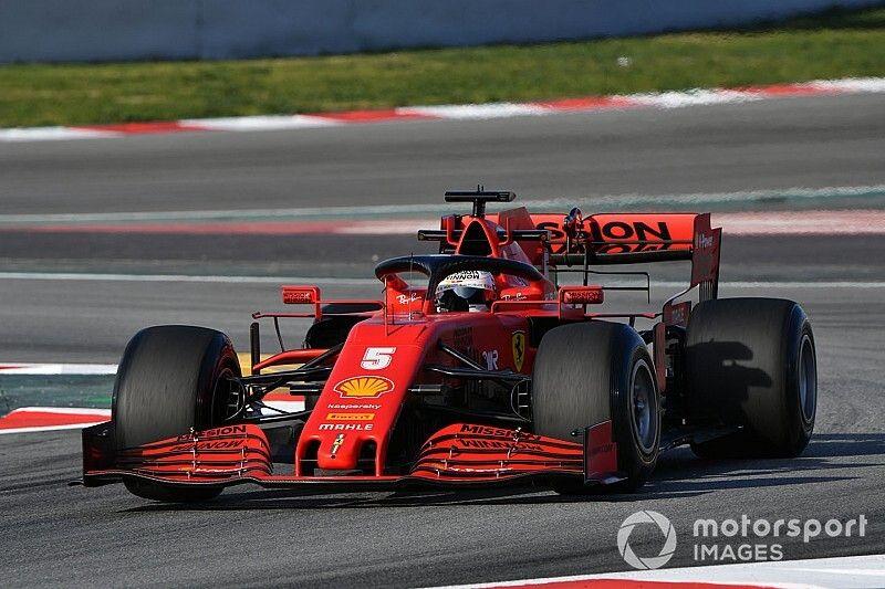 """Ferrari """"paie le prix"""" de son appui aérodynamique en ligne droite"""
