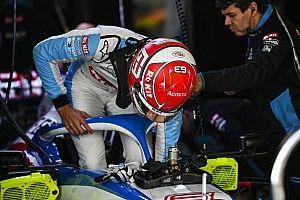 """VIDEO: Mira a los pilotos de F1 """"conduciendo"""" camiones"""