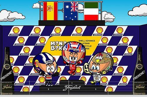 Vídeo: el histórico GP de Malasia de 2009, por MiniBikers