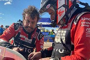 Alonso sufre su primer gran problema en el Dakar