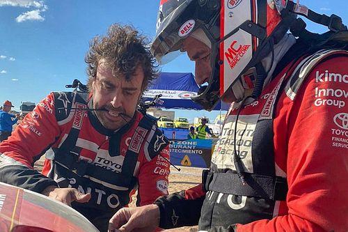 """Alonso: """"Il problema? Fa parte della Dakar. Felice di continuare"""""""
