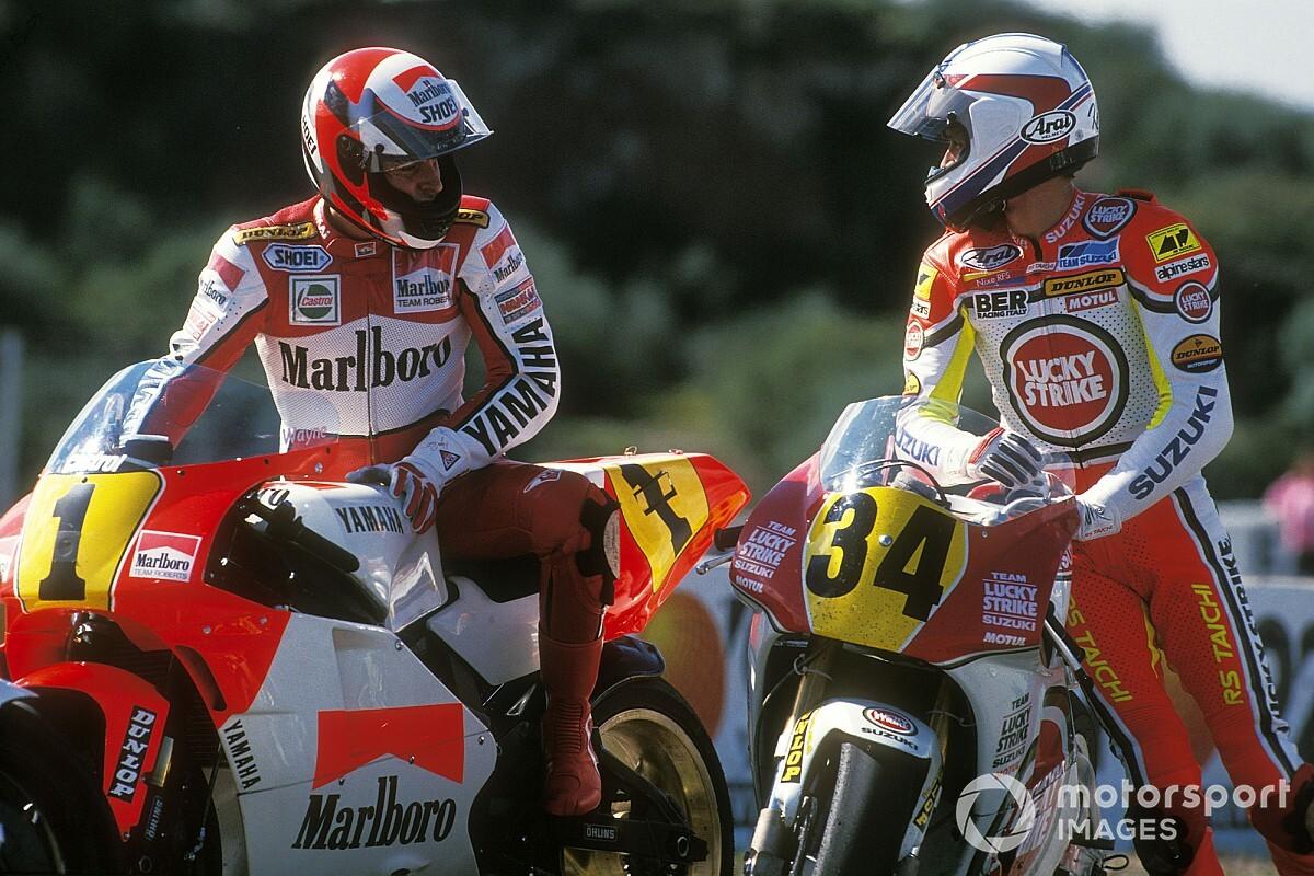"The ""balls out"" battle between MotoGP's true greats"