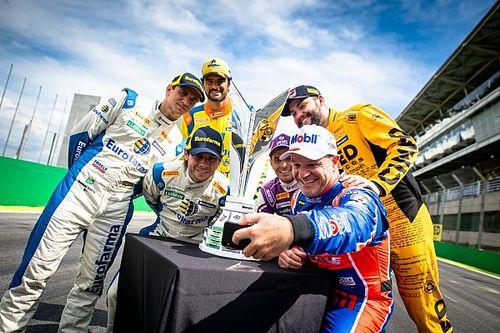 GALERIA: Candidatos ao título flertam com troféu da Stock Car 2019