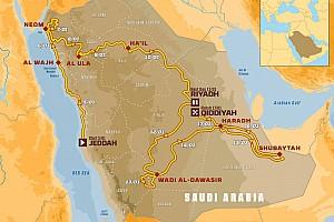 Dakar 2020: ecco il percorso con più km cronometrati e meno caldo