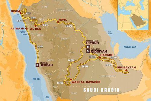 Организаторы «Дакара» представили маршрут гонки 2020 года