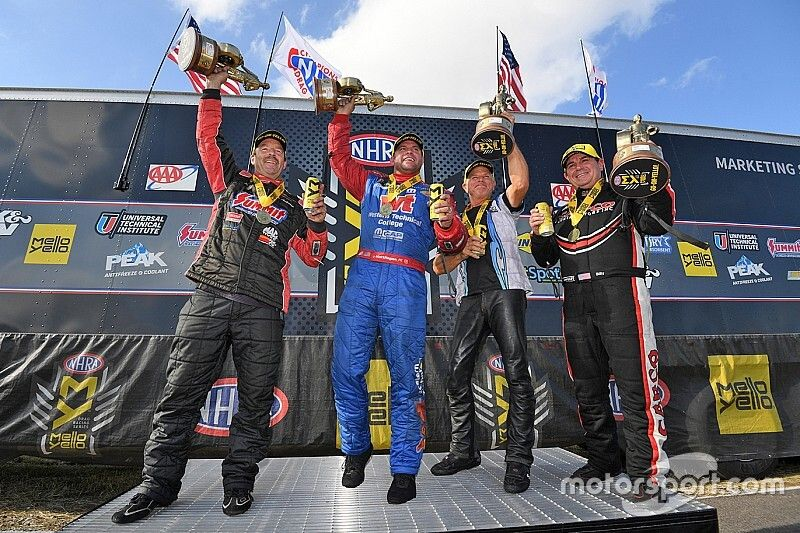 B. Torrence, Hagan, Anderson, Savoie win NHRA FallNationals