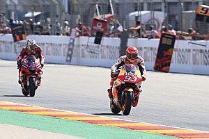 Duel Sengit di MotoGP Aragon, Marquez Samakan Bagnaia dengan Dovizioso