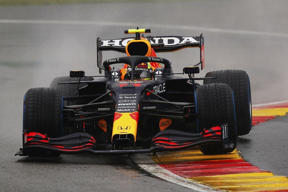 Perez allowed to join Belgian GP from pitlane if car repaired during delay