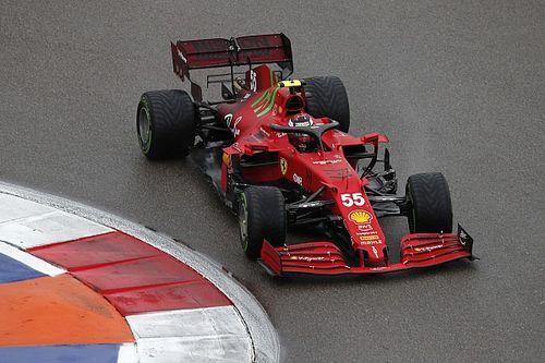 Ferrari in prima fila: Sainz ripaga la chiamata giusta del muretto