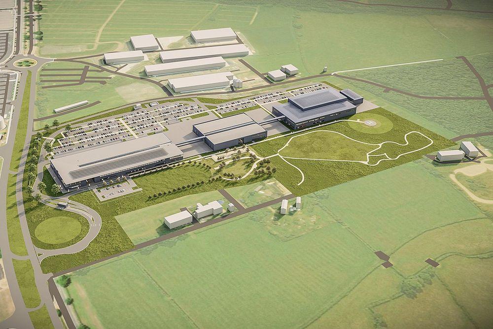 Waarom de nieuwe campus van Aston Martin het 'tegenovergestelde' McLaren MTC is