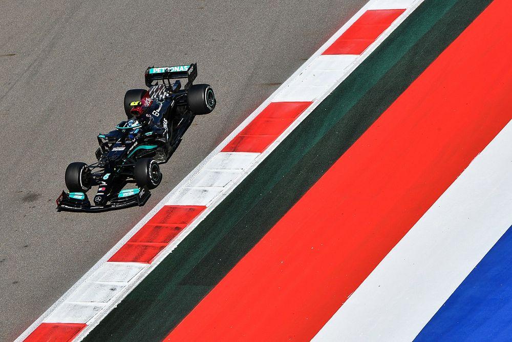 Mercedes стали лучшими в FP2 в Сочи, Боттас быстрее Хэма