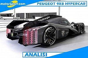 Analisi Peugeot: la 9X8 fa sembrare vecchie le altre Hypercar