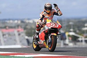 MotoGP, Austin, Libere 2: Marquez di un soffio su Miller