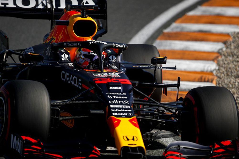 F1オランダGP予選:フェルスタッペンが地元でポール獲得! 角田裕毅は赤旗に泣き15番手
