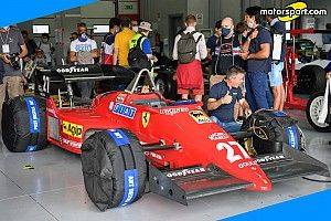 """Martini: """"Che emozione guidare la Ferrari 126 C4 di Alboreto"""""""