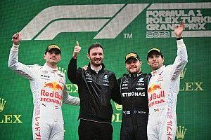 Bottas gana en el GP de Turquía con Verstappen y Pérez en el podio