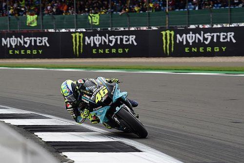 Teleurstellende P18 in laatste Britse GP doet Rossi pijn
