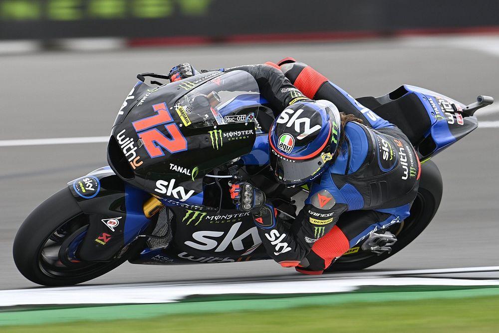 Moto2イギリス予選:VR46のマルコ・ベッツェッキ、PP獲得! 小椋藍は14番手に沈む