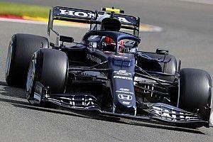 F1ベルギーFP2速報:フェルスタッペンがトップで初日を終える。角田裕毅は12番手
