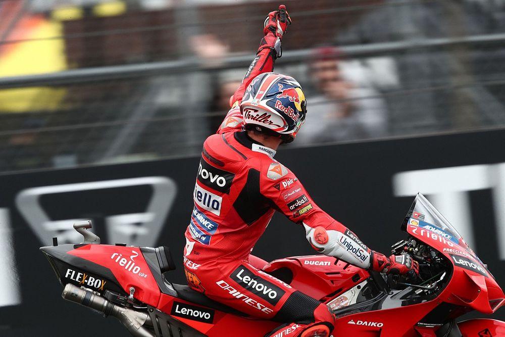 MotoGPイギリスFP3:好調ミラーがトップタイム! ロッシはオランダ以来のQ2直接進出