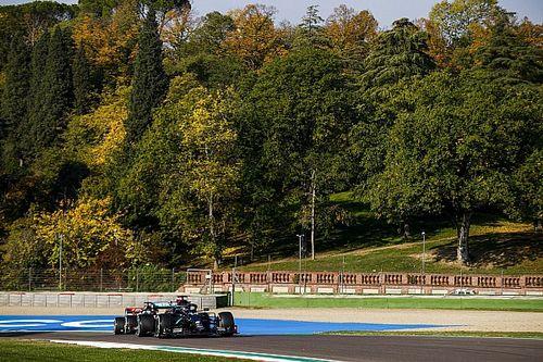 Intensa única sesión de libres en Imola sin un dominador claro