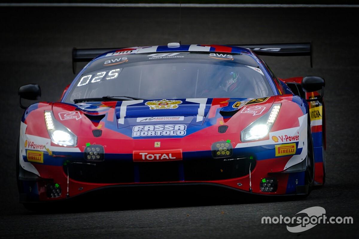 24h di Spa, 21a Ora: resa dei conti Audi-Ferrari sul bagnato
