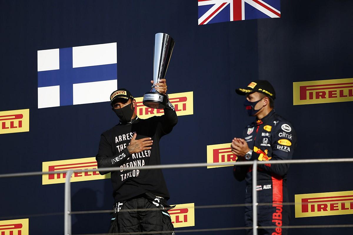ترتيب بطولة العالم للفورمولا واحد بعد جائزة توسكانا الكبرى 2020