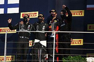 Hamilton wint spectaculaire GP van Toscane, nieuwe DNF Verstappen