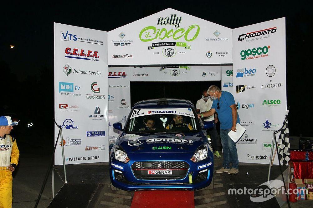 Suzuki Rally Cup: successo e leadership al Ciocco per Rivia