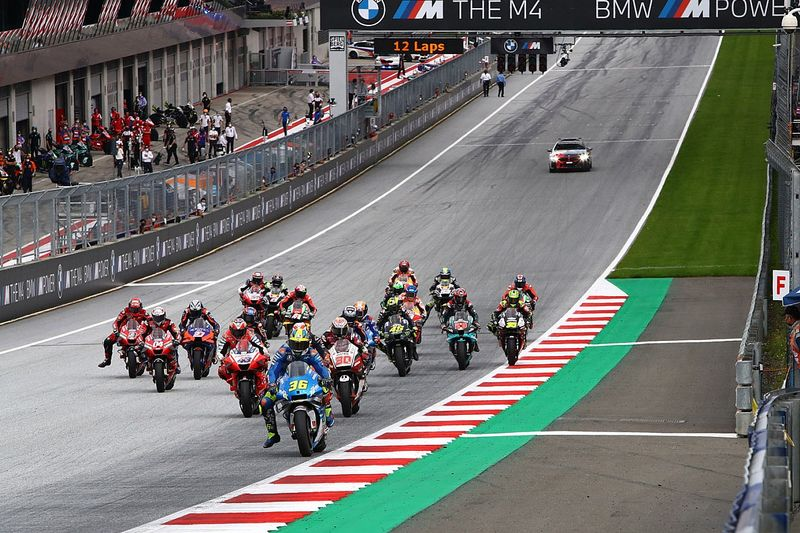 MotoGP cancela etapa da Finlândia e acrescenta segunda corrida na Áustria