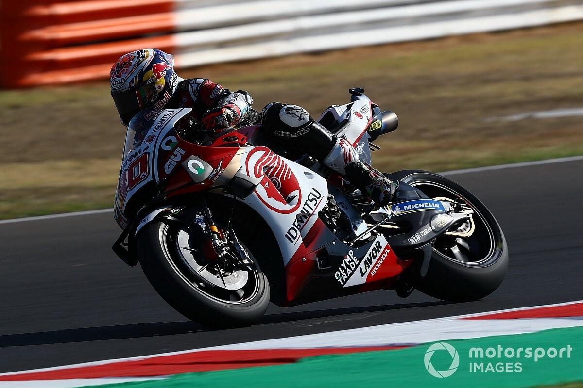 Nakagami klopt Morbidelli in warm-up GP van San Marino