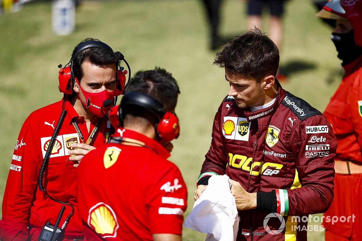 Leclerc szerint muszáj kezdenie valamit a Ferrarinak a versenytempójával