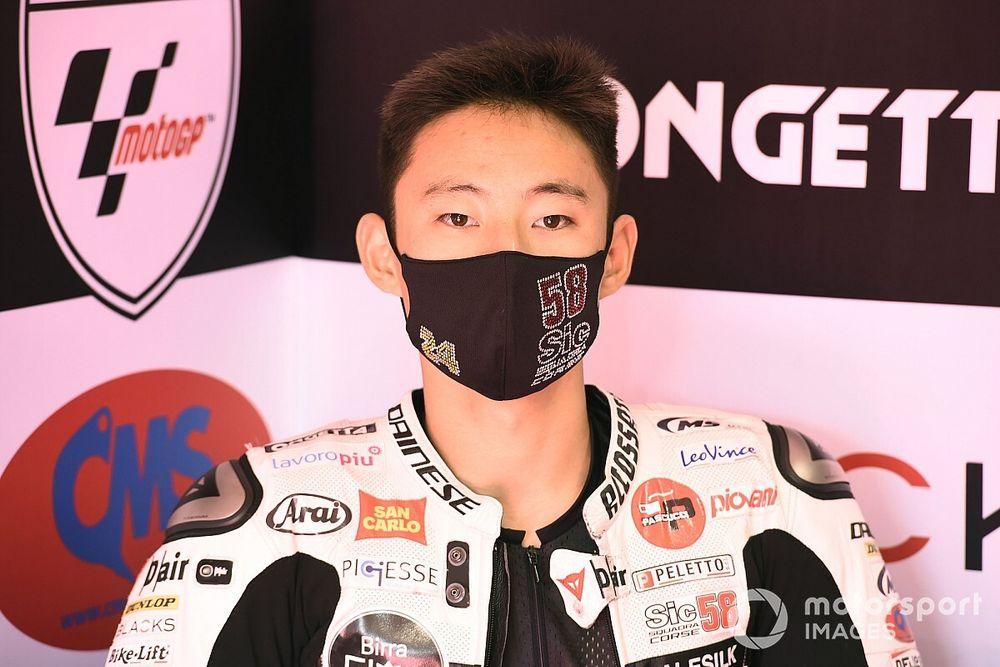Le pilote Moto3 Tatsuki Suzuki positif au COVID-19