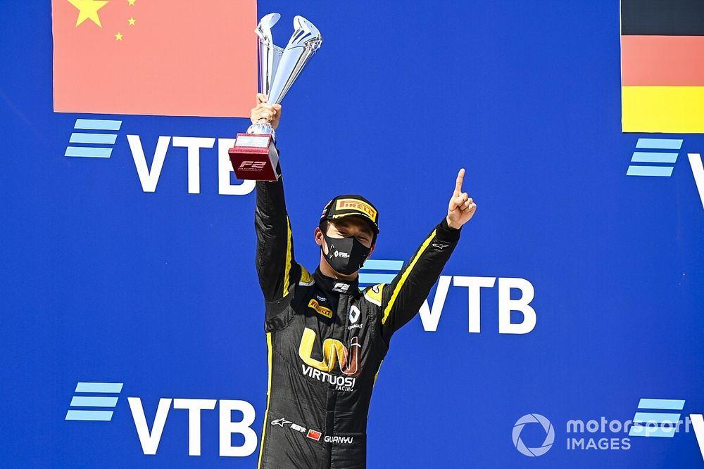 周冠宇相信自己在2020赛季F2展现了争冠潜力