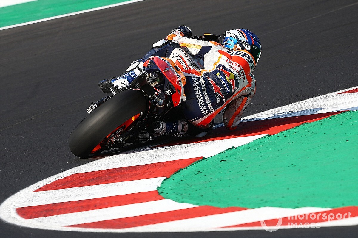 """Marquez: Honda MotoGP bike """"out of control"""" in qualifying"""