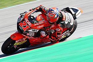 Aragon Moto2: Lowes düştü, Di Giannantonio lider