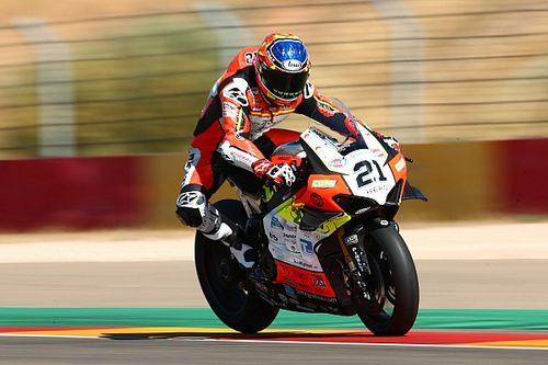 Aragon WSBK: Rinaldi gets first win, Redding crashes