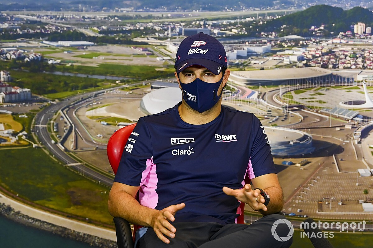 """Pérez a discuté avec Racing Point: """"La situation est apaisée"""""""