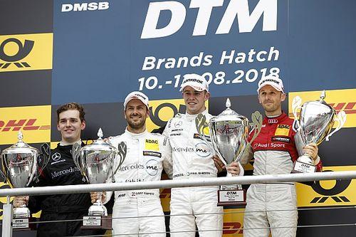 DTM Brands Hatch: Di Resta wint, pech voor Frijns