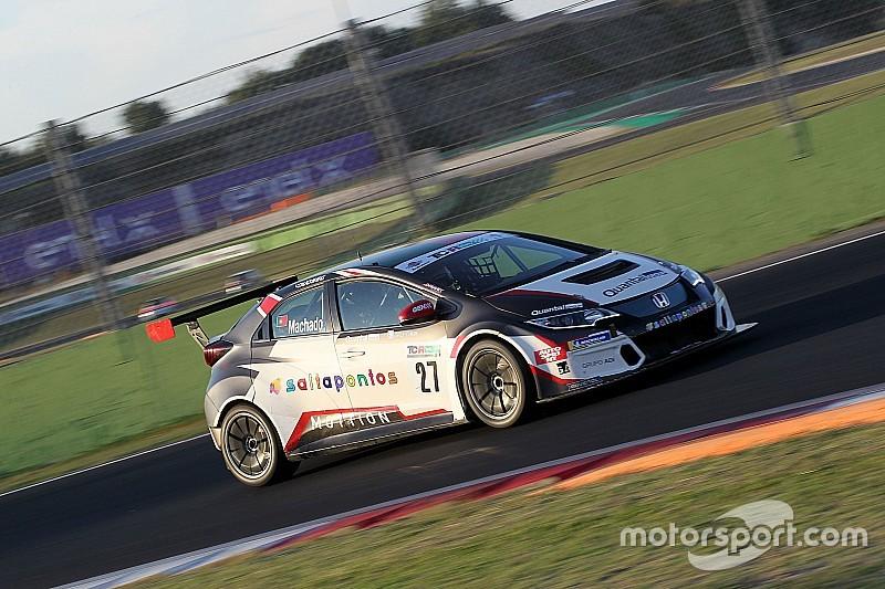 César Machado centra la pole position per Gara 1 a Vallelunga