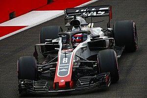 """Grosjean califica de """"basura"""" la normativa sobre el uso de neumáticos"""