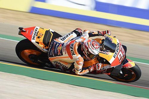 Marquez fergeteges csatát nyert meg Doviziosóval szemben - Iannone harmadik, Lorenzo ijesztően bukott
