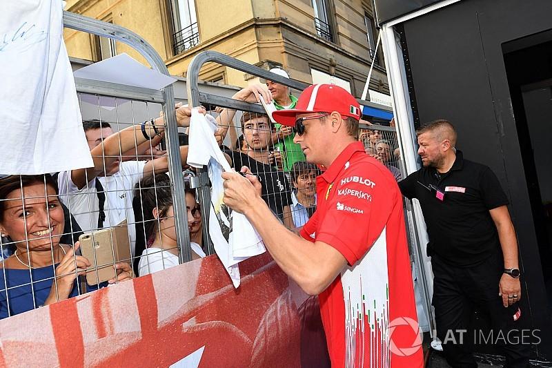 Raikkonen: Takımda kalıp kalmayacağımı Ferrari'ye sormalısınız