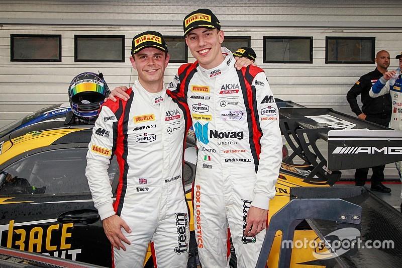 Nurburgring, Libere 2: la Mercedes dell'AKKA ASP risponde presente con Marciello e Meadows