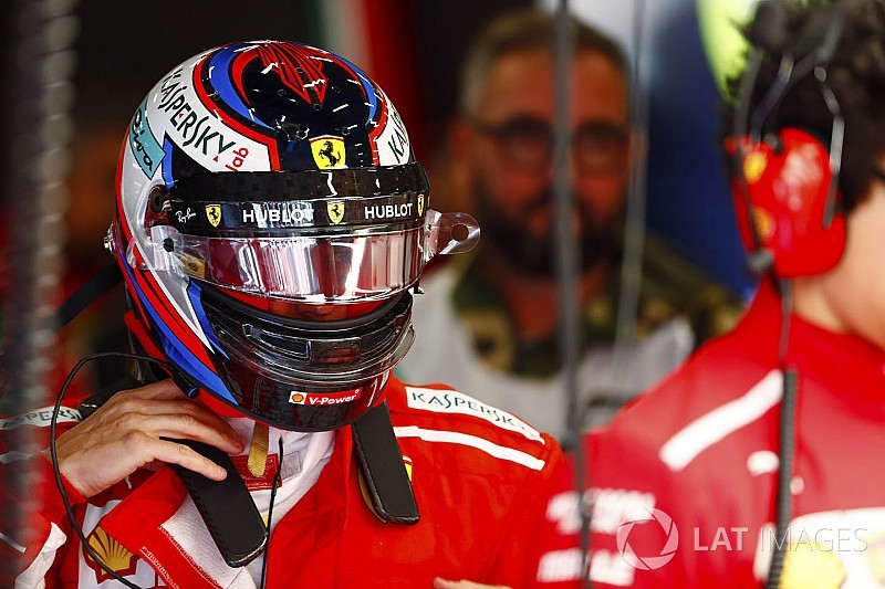Räikkönen a manqué de carburant en fin de Q3