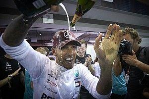 Rusya GP öncesi Lewis Hamilton ile röportaj