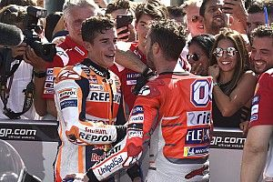 """""""Immer mit Respekt"""": Marquez und Dovizioso sprechen über ihr Aragon-Duell"""