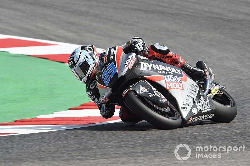 Moto2 Aragon: Schrötter trapt raceweekend af met snelste tijd